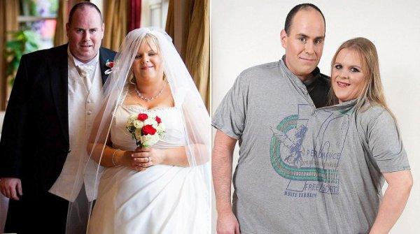 Un couple d�cide de maigrir apr�s avoir cass� quatre fois leur lit !