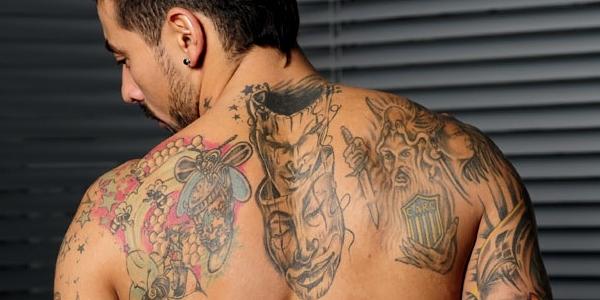 Les tatouages des footballeurs !!!