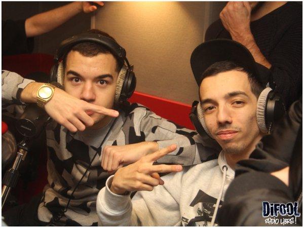 """Bigflo et Oli dans la Radio Libre pour pr�senter leur nouveau son """" Mytho"""""""