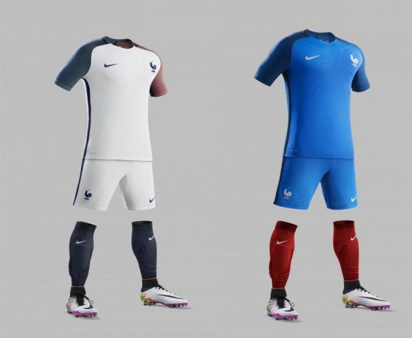 Voici le nouveau maillot de l'équipe de France !