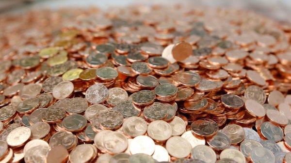 Il paie 239 euros aux imp�ts avec 23 000 pi�ces de 1 centime !