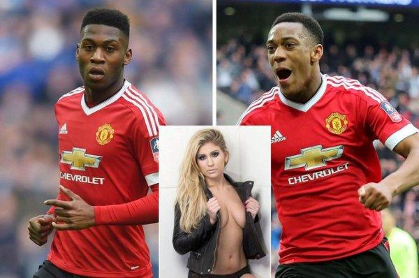 Anthony Martial : impliqu� dans un plan � trois avec un footballeur et une ex de t�l�-r�alit� ?
