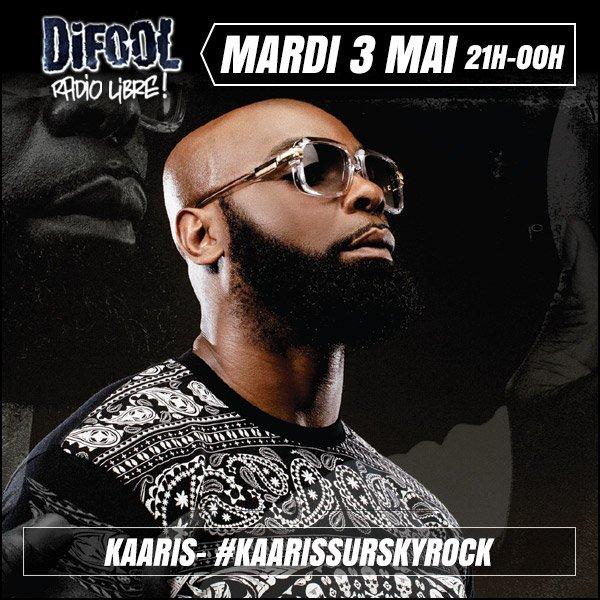 Kaaris d�barque dans la RadioLibre...