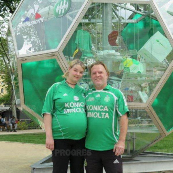 Fans des Verts, ils font 700 km pour avoir un b�b� st�phanois !
