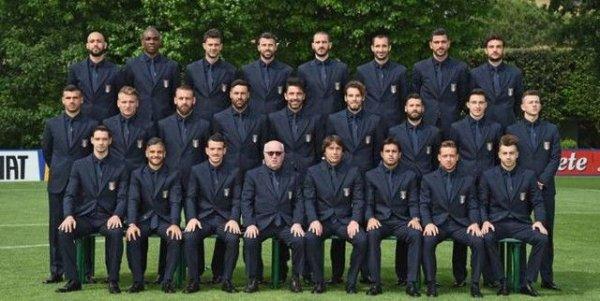 Voici les photos officielles de l'�quipe d'Italie et de l'�quipe de France !