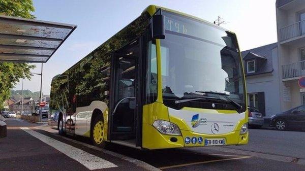 Dans les rues d'�vreux, les bus sont parfum�s !