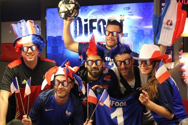 L'�quipe de la Radio Libre est pr�te pour l'Euro 2016 !
