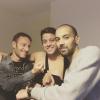 Difool et Karim sont all�s rendre visite � C�dric et sa clavicule cass�e...