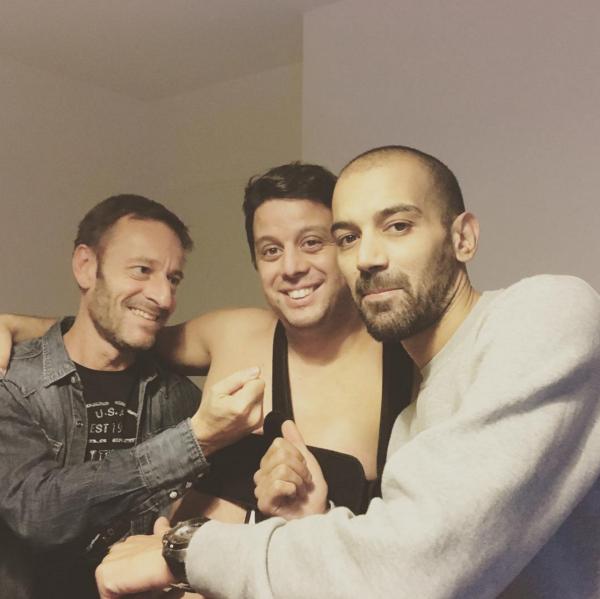 Difool et Karim sont allés rendre visite à Cédric et sa clavicule cassée...