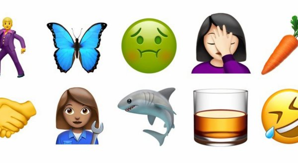 VIDÉO - Découvrez tous les nouveaux emoji !