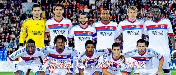 xOlympiqueLyonnais ~ Effecitf OL version 2011 / 2012