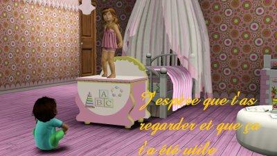 Blog de sims 3 cm blog de sims 3 cm for Sims 3 chambre bebe