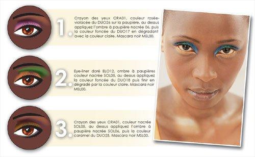 Makeup pour les personne au teint mate
