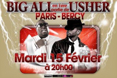 BIG ALI fera la première partie de USHER à Paris-BERCY le MARDI 15 FEVRIER 2011