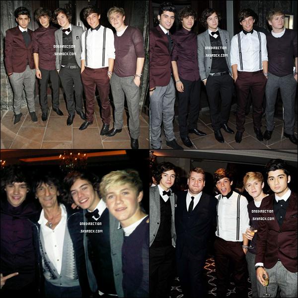 • 21/09/11 – Harry, Liam, Zayn, Niall et Louis étaitent présent à l'événement de la « Fashion Week ».
