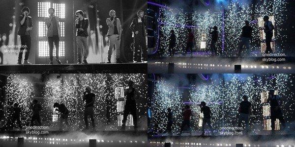 Les One Direction ont répondus à une interview pendant le xtra factor qui a été diffusé après l'émission.