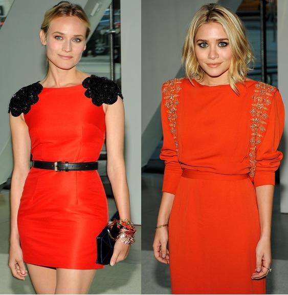 quel maquillage avec robe orange
