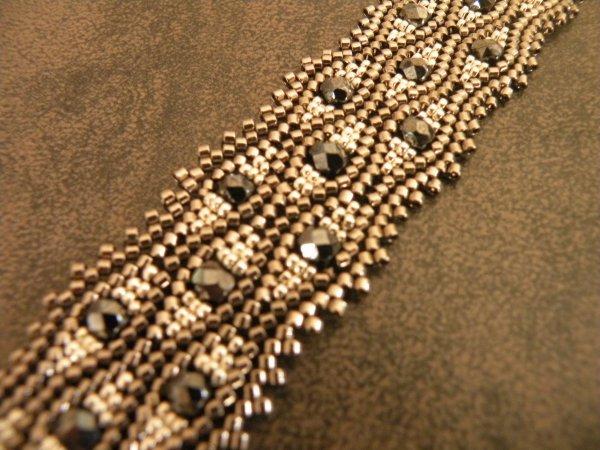 Bracelet serpentine ndebele