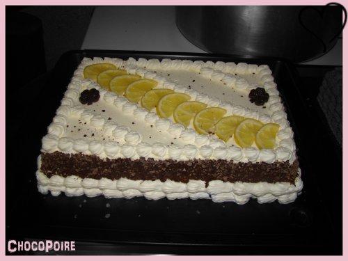☆ Entremet Mousse aux Citrons ☆