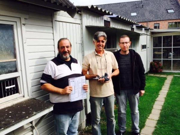 Visite chez Geert Deconinck