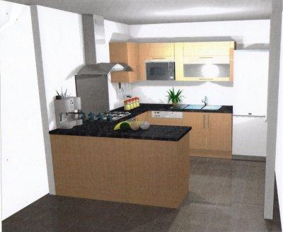 cuisine maison phenix harmonie 3094 a. Black Bedroom Furniture Sets. Home Design Ideas