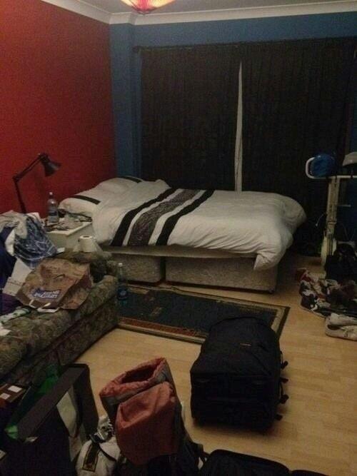 Chambre de niall qu 39 est ce que fou un pq c t de son lit la perfection anglo irlandaise - Qu est ce qu un lit gigogne ...