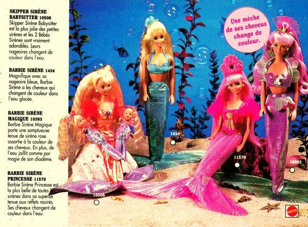 Barbie et le monde des sir nes blog de milysabel - Barbie sirene couleur ...