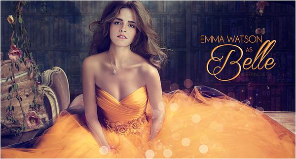 """Voici le premier teaser de """"Beauty and The Beast"""". J'ai aussi rajout� trois fan arts de Emma en Belle. Magnifiques!"""