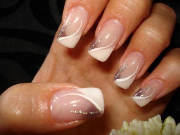 deco ongles gel french