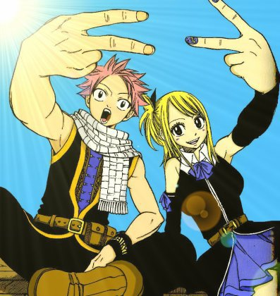 Fairy Tail comme Soleil - Chapitre 4 : YEAH TOUTOU POWA