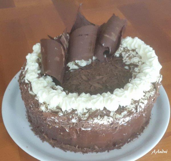 Patisserie - Gateau � la mousse de Nutella