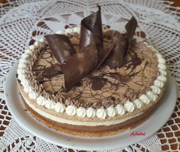 Patisserie - Succ�s Noisettes aux 3 chocolats