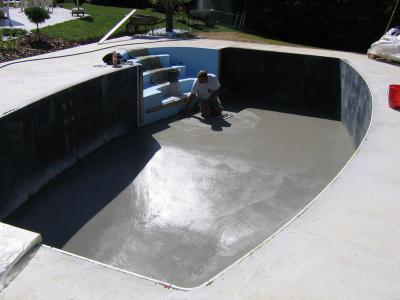 Reprise chantier construction de notre piscine for Cout de construction piscine
