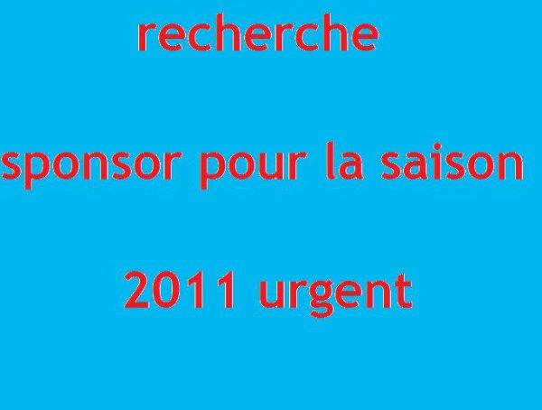 recherche sponsor urgent