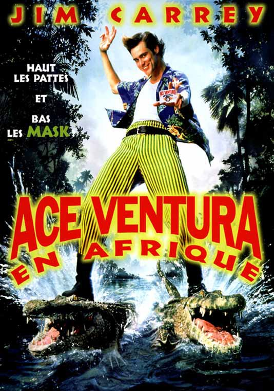 Download Ace Ventura en Afrique FRENCH Poster