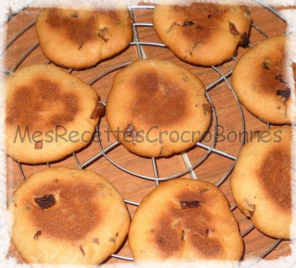 cookies au beurre sal chocolat au lait blog de mesrecettescrocrobonnes. Black Bedroom Furniture Sets. Home Design Ideas