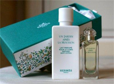 Hermes coffret un jardin apr s la mousson passionn e de miniatures de parfums - Un jardin apres la mousson ...