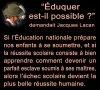 Citation : éducation = soumission ?