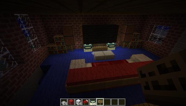 intérieur de maison 3  minercraft