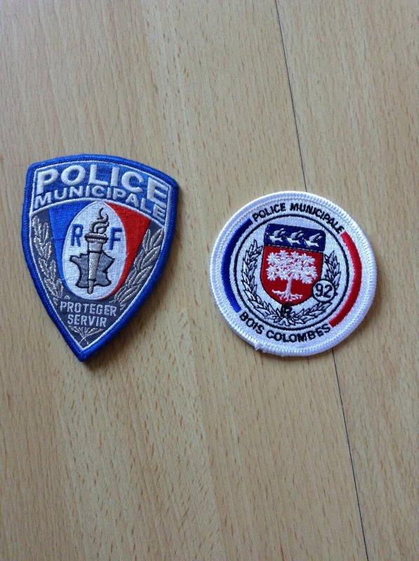 Ecusson police municipale bois colombe (92)