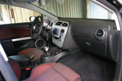 Interieur de reve seat leon 2 for Interieur seat leon