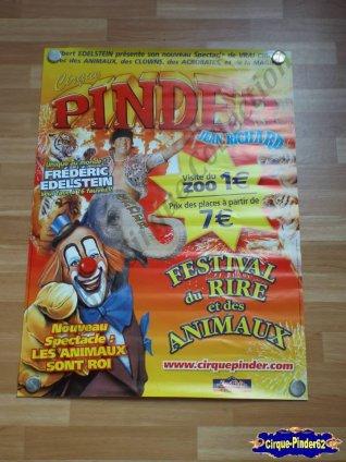 affiche murale du cirque pinder 2012 n 220 cirquepinder62collection. Black Bedroom Furniture Sets. Home Design Ideas