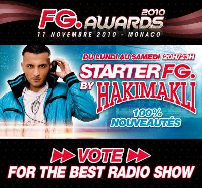 Vote pour mon Radio Show sur FG DJ Radio! STARTER FG