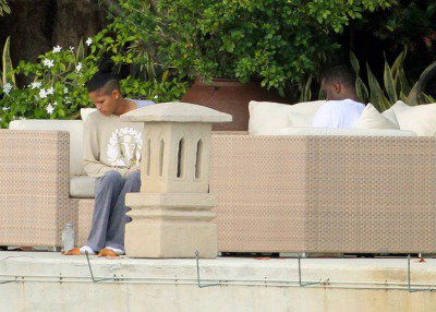 Cassie and Diddy spend some time in Miami