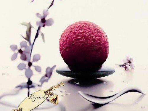 Sorbets aux fruits sans sorbeti re en moins de 5 minutes au mixeur blog de lesdessertsdekrys - Faire une glace sans sorbetiere ...
