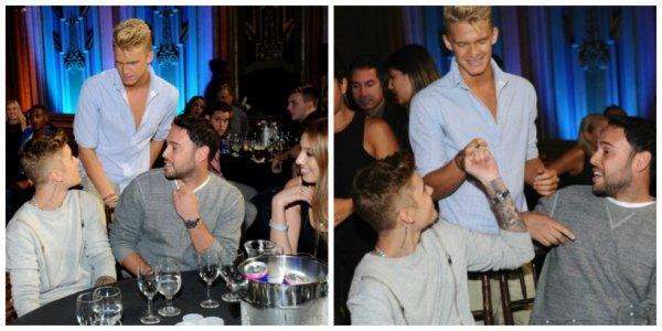 28 juillet Cody Simpson, Justin Bieber, Scooter Braun, et Yael Cohen à 2014 Young Hollywood Awards