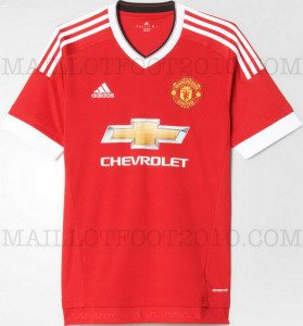 Photo - Nouveau maillot de foot Manchester United 2015 2016