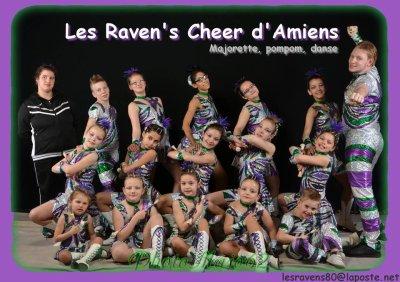 En route chez les Raven's d'Amiens !!! <3