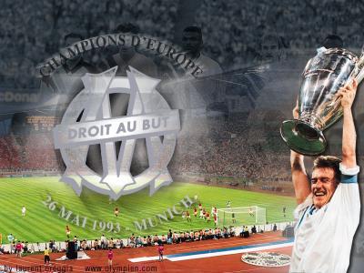 Olympique de marseille 1993 champion d 39 europe rsclseb - Coupe d europe des champions ...