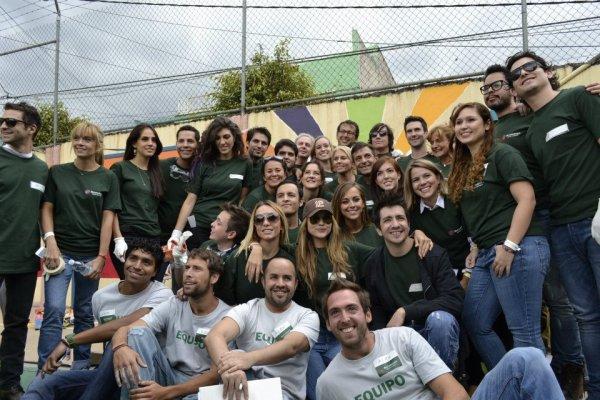 """Christian Ch�vez participando do """"Tiempo para Compartir con Buchanan's Mexico"""" no M�xico (19.08.12)"""